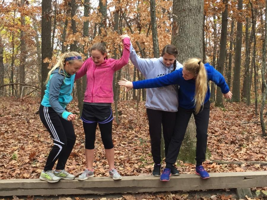 Eighth Grade Leadership Team Serves Their Community