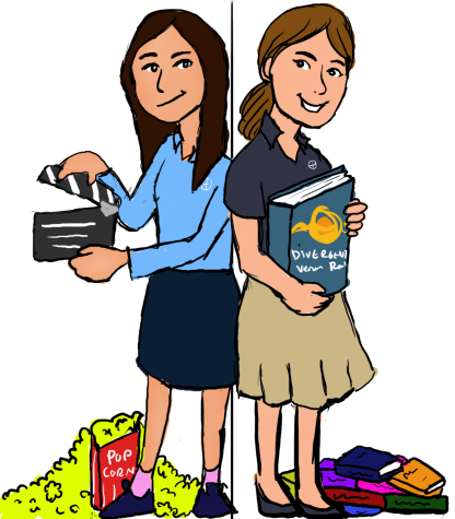 DIVERGING VIEWS: Book-Reader