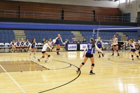 Varsity Volleyball Dominates Troy