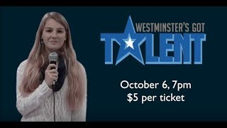 Westminster's Got Talent Promo