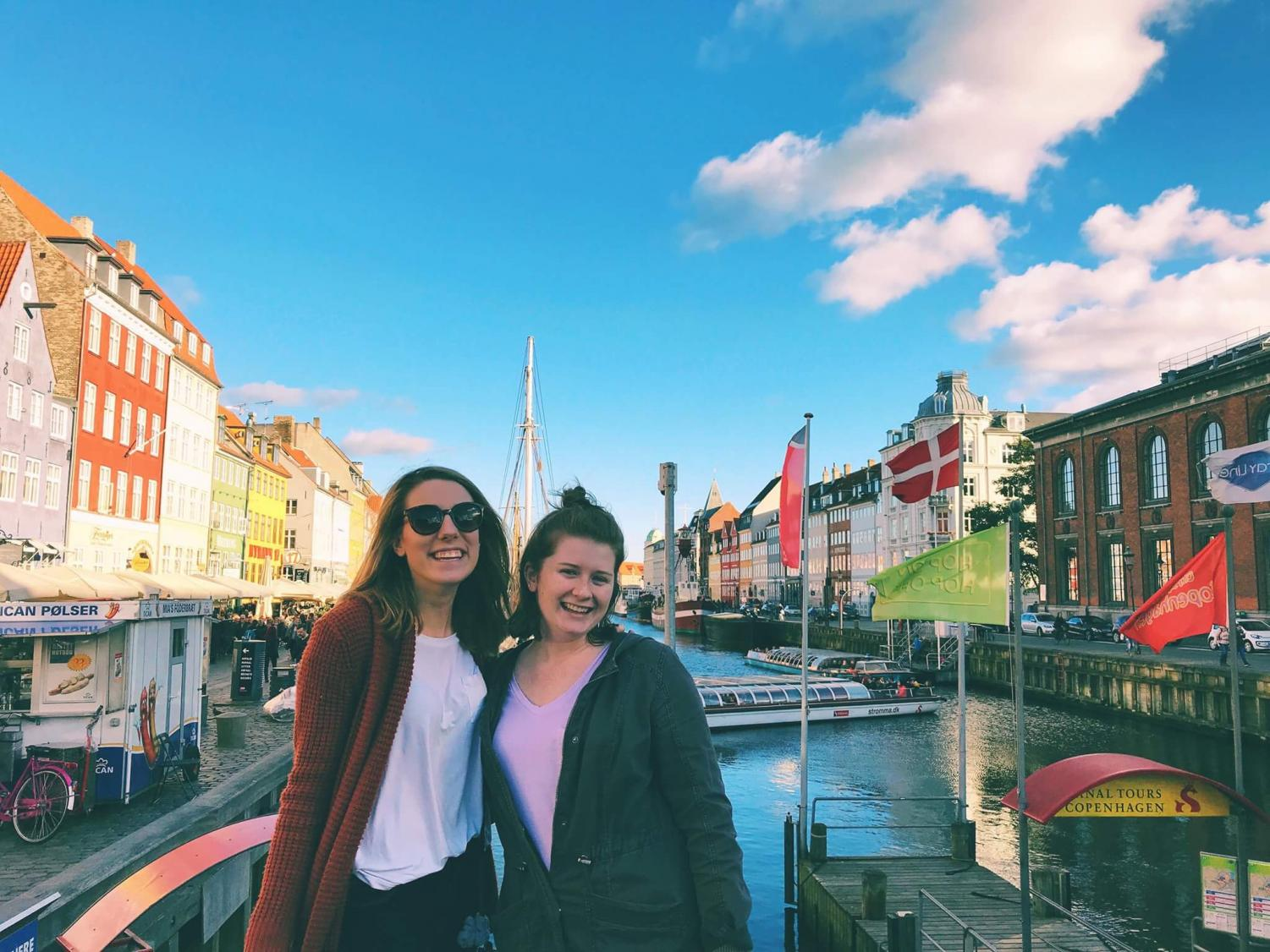 Alyson Mckie and friend exploring Europe. Photo by: Alyson Mckie