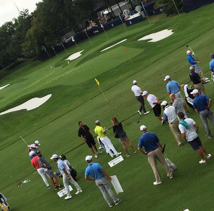 Many Westminster students went to the PGA Championships to see their favorite golfers.