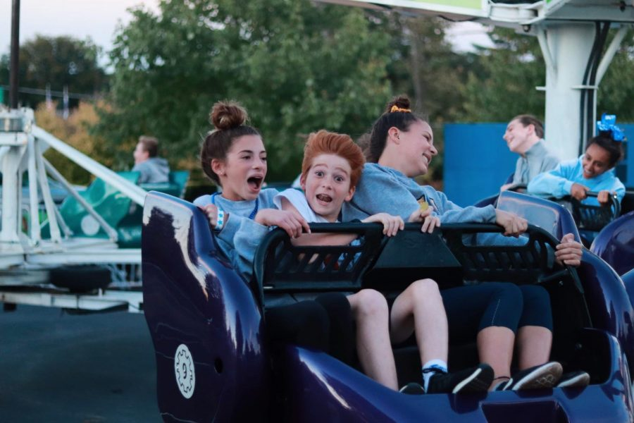 Students enjoyed the new addition of rides to Carnival.