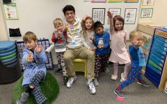 Sebastian Lacassie Mentors Preschool Students Through Service at Kirk Day School