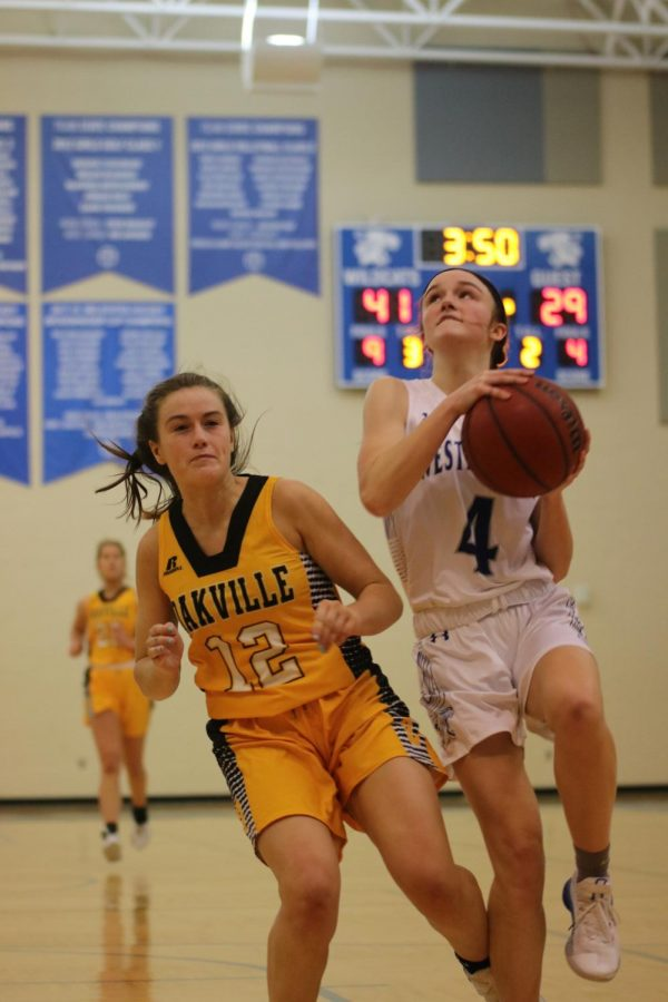 Brooke Highmark is averaging almost 15 points for the Wildcats this season.