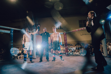 John Pottebaum, Class of 2016, is a creater, host, and Marketing Director of Fight Night.