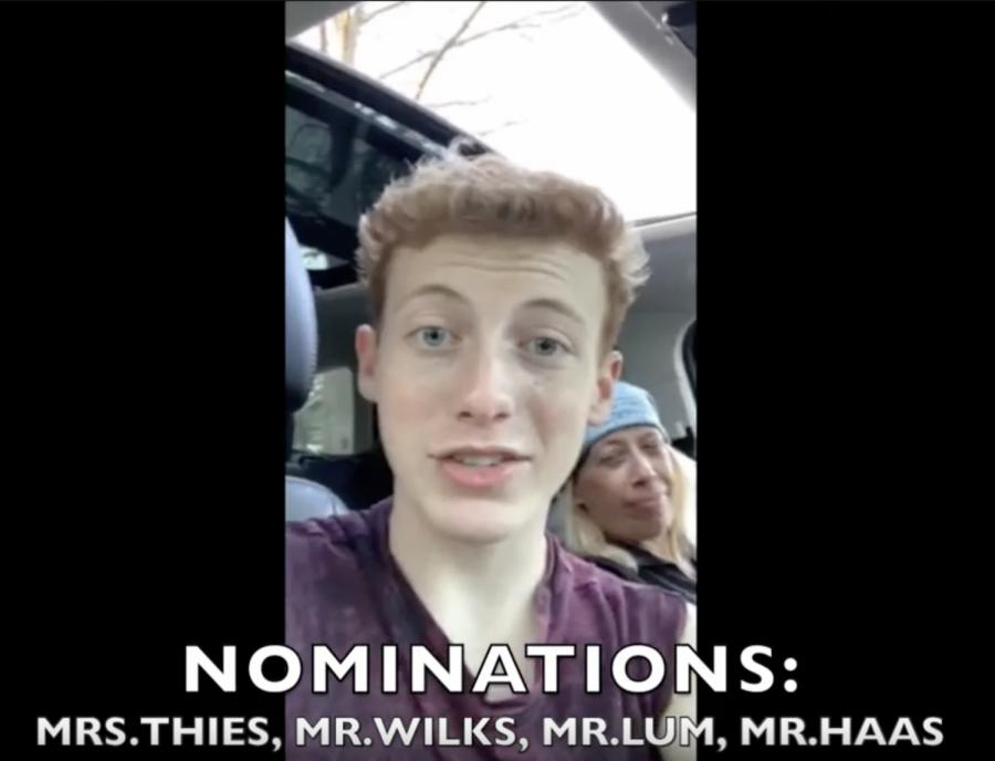 Matthew Culligan Faculty and Staff TikTok Nomination