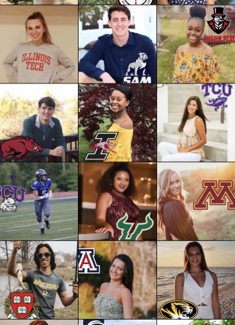 Over 77 seniors have been featured on the Instagram account.