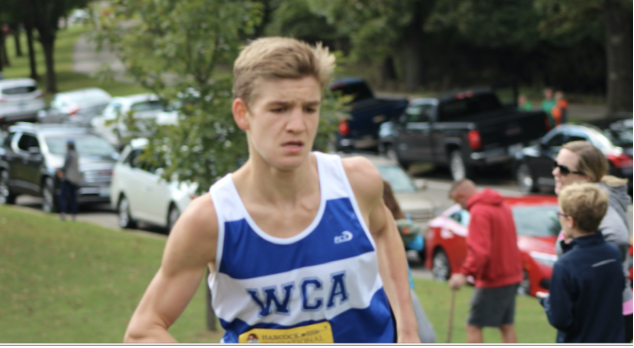 Moellenhoff was one of the team's best runners during his Sophomore year.