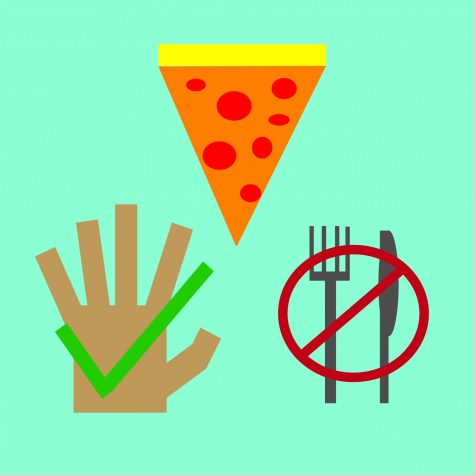 which way is the best way to eat pizza?