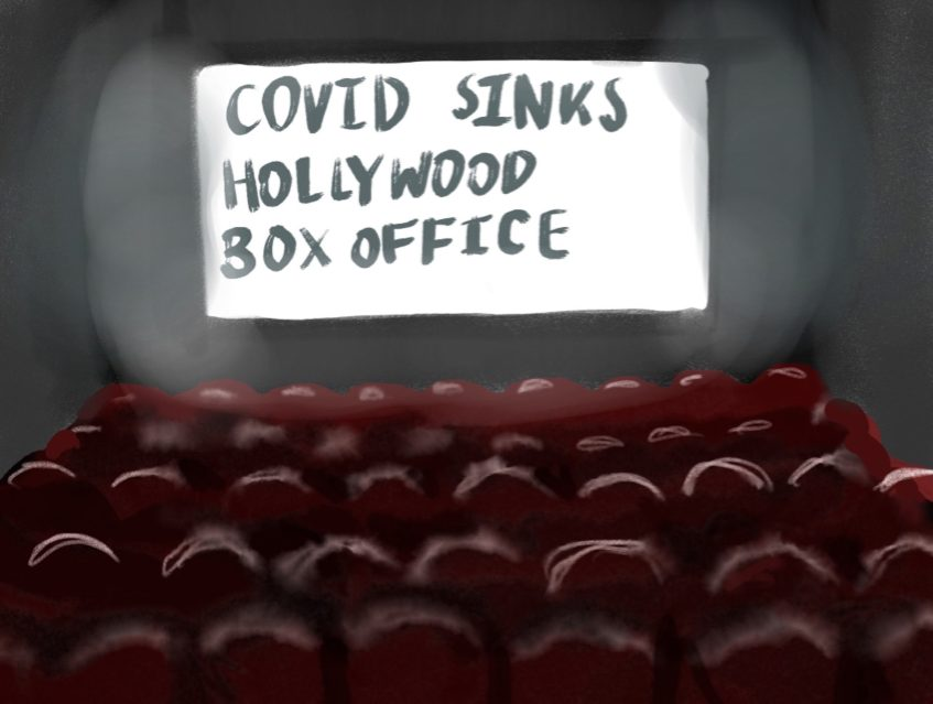 Movie theaters took a hard hit, when covid started and as it continues.