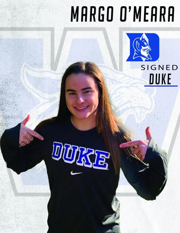 Margo+O%27Meara+signs+with+Duke+University.