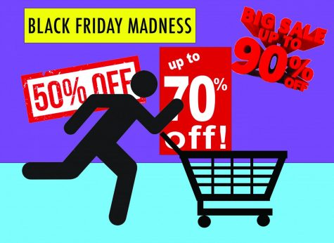 With deals like 50-90% off, who can resist Black Friday shopping?