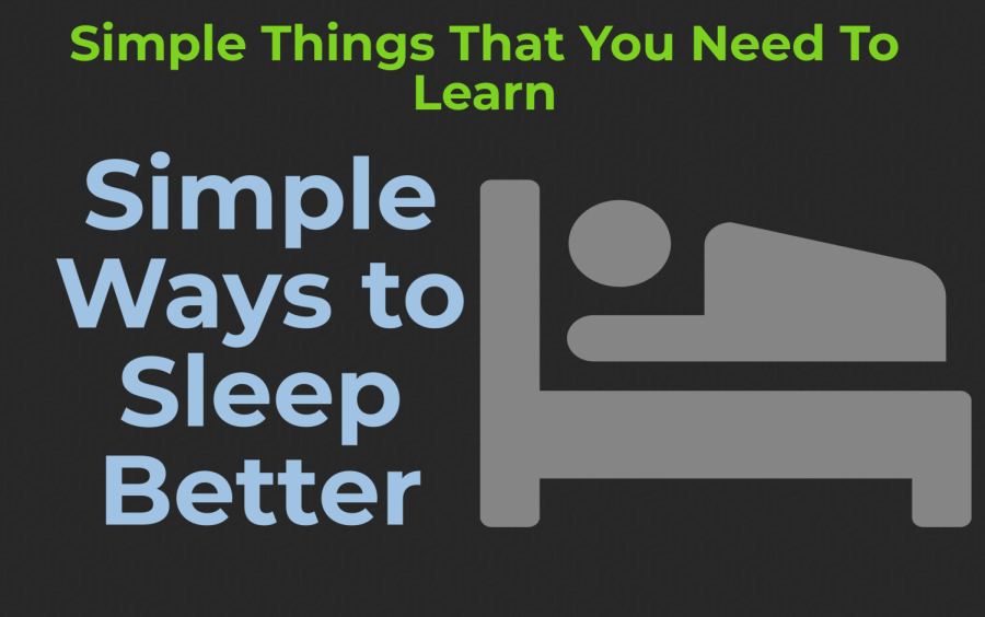 Simple Ways to Sleep Better
