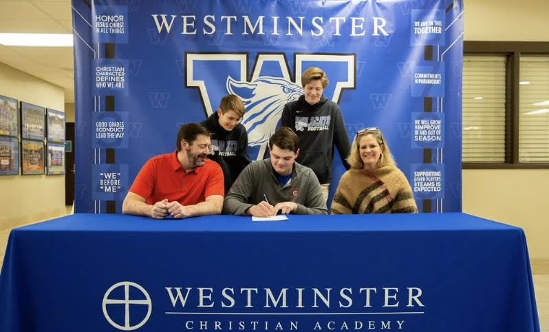 Powers recently signed his letter of intent to play for Cornell University