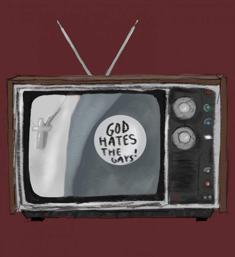 The religious character on television shows is a detriment to religion and God.