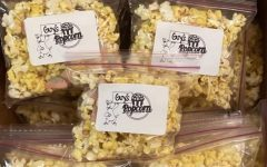get some guy popcorn at pawprint any morning and afternoon.