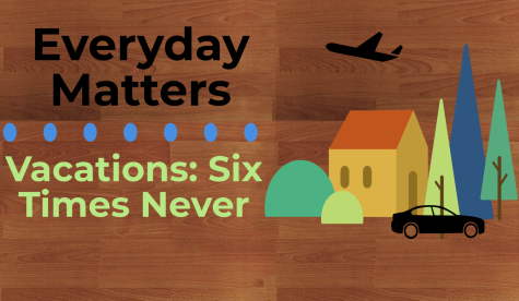 Vacations: Six Times Never
