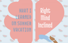 What I did this Summer Vacation