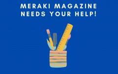 The Meraki Magazine Flyer. Image provided by Mrs. Holliday