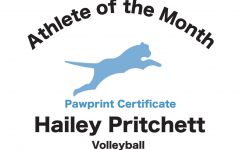 Hailey Pritchett is one of the girls volley ball captions. she seems to understand and show great leadership in all that she does. We are so honored to have her as our first athlete of the month1