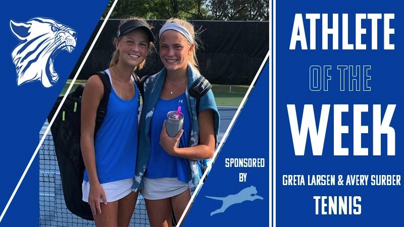 Avery and Greta qualify for the state doubles tournament.